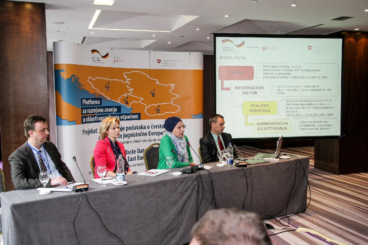 Drugi sastanak platforme za razmjenu znanja u oblasti upravljanja otpadom